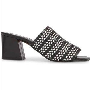Topshop Shoes - TOPSHOP Nadia Woven Mule NWOT